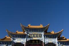 китайский висок входа к Стоковое фото RF