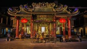 Китайский висок в Бангкоке Стоковое Фото