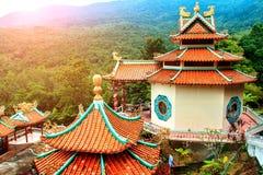 Китайский висок в джунглях стоковая фотография rf