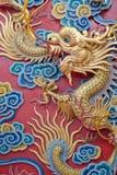 китайский висок дракона Стоковое фото RF