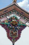 китайский висок крыши Стоковое фото RF