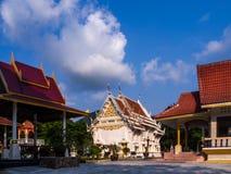 Китайский висок на острове Koh Phangan стоковое фото