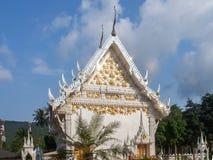 Китайский висок на острове Koh Phangan стоковые изображения rf