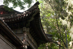 китайский висок традиционный Стоковые Фото