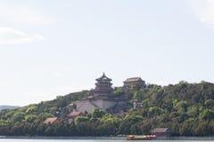 китайский висок традиционный Стоковая Фотография