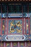 китайский висок традиционный Стоковое фото RF