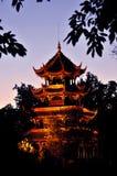 китайский висок Стоковое Фото