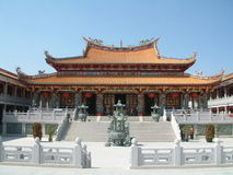 китайский висок macau стоковая фотография rf