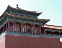 китайский дворец Стоковое Изображение RF