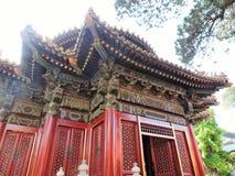 китайский дворец Стоковое Фото