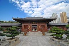 Китайский востоковедный висок Стоковое Фото