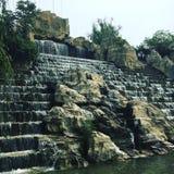Китайский водопад стоковые изображения