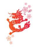 китайский год дракона Стоковые Фотографии RF