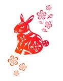 китайский год кролика Стоковые Изображения RF
