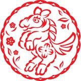 китайский год лошади Стоковое Изображение RF