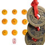 китайский год нового сериала Стоковое Изображение