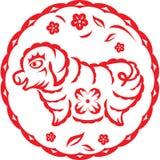 китайский год свиньи Стоковое Изображение
