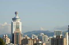 китайский город самомоднейший shenzhen Стоковое Изображение RF