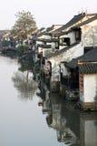 китайский городок Стоковая Фотография