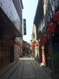 китайский городок Стоковое Изображение