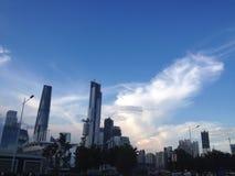 китайский город Стоковая Фотография RF