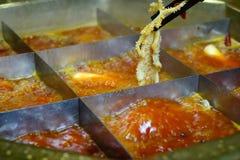 Китайский горячий бак Стоковые Изображения RF