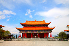 китайский дворец Стоковое фото RF