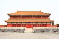 китайский дворец Стоковая Фотография