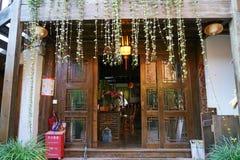 Китайский дом в городке Shuhe старом Стоковые Фото