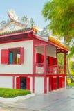 Китайский дом в PA челки в парке Ayutthaya Стоковые Изображения
