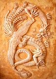 китайский дракон традиционный Стоковая Фотография RF