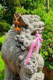 Китайский лев попечителя, собака Fu, лев Fu, Lumphini p Стоковая Фотография