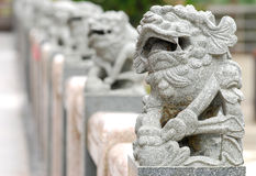 китайский единорог Стоковое Изображение