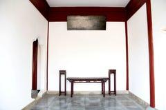 китайский живущий тип комнаты Стоковые Изображения RF