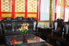 Китайский журнальный стол стоковая фотография rf