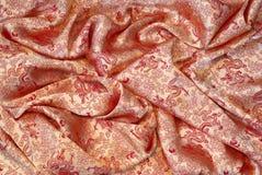 китайский задрапированный шелк Стоковое Изображение