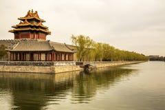 китайский запретный город Стоковое Фото