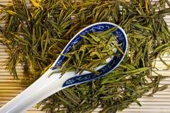 Китайский зеленый чай Стоковые Фотографии RF