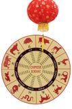 Китайский зодиак Стоковое фото RF