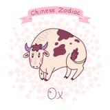 Китайский зодиак - вол Стоковые Фотографии RF