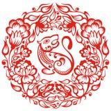 китайский зодиак тигра Стоковые Изображения RF