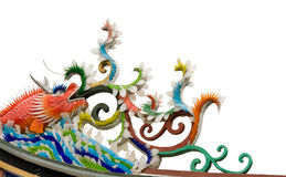 китайский изверг рыб цвета Стоковое фото RF
