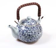 китайский изолированный чайник Стоковая Фотография