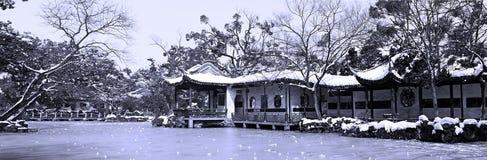 китайский классический сад Стоковое Изображение RF