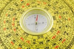 китайский компас Стоковые Изображения
