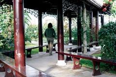 китайский корридор длиной Стоковые Фотографии RF