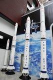 китайский космос серии ракет cz модельный Стоковая Фотография