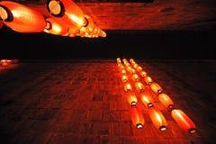 Китайский красный фонарик Стоковые Изображения RF
