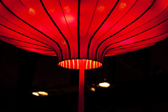 Китайский красный фонарик Стоковое Изображение RF