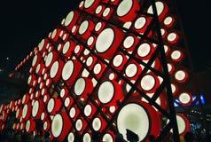 китайский красный цвет барабанчика Стоковые Фото